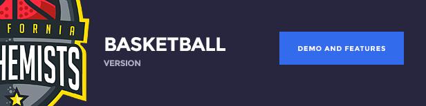 The Alchemists WordPress Theme - Basketball version