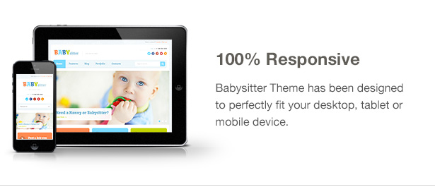 Babysitter - Responsive WordPress Theme  Babysitter - Responsive WordPress Theme