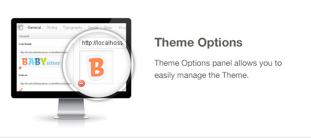 Babysitter Feature: Theme Options