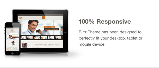 Blitz Theme Features: Responsive