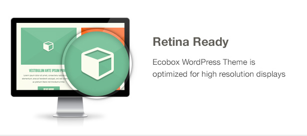 Ecobox WordPressのテーマの特徴:網膜レディ