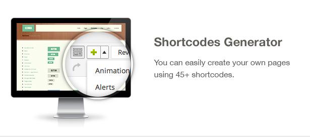 Ecobox WordPressのテーマの特徴:ショートコード