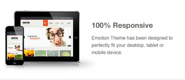 Emotion Theme Features: Responsive