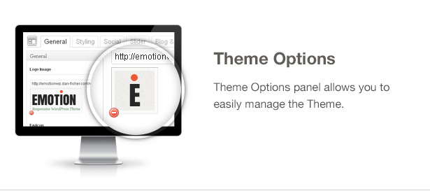 Emotion Theme Features: Theme Options