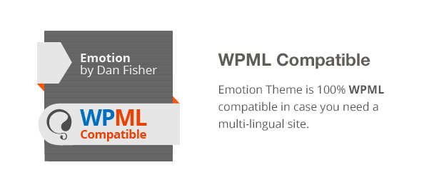 Emotion Theme Features: WPML Compatible