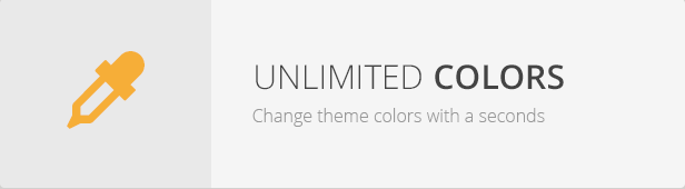Unlimited Colors - T.Joy WordPress Theme Responsive