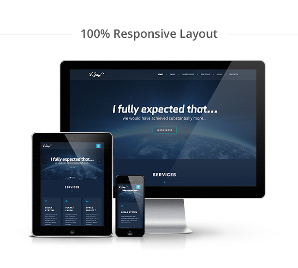 T.Joy WordPress Theme Responsive