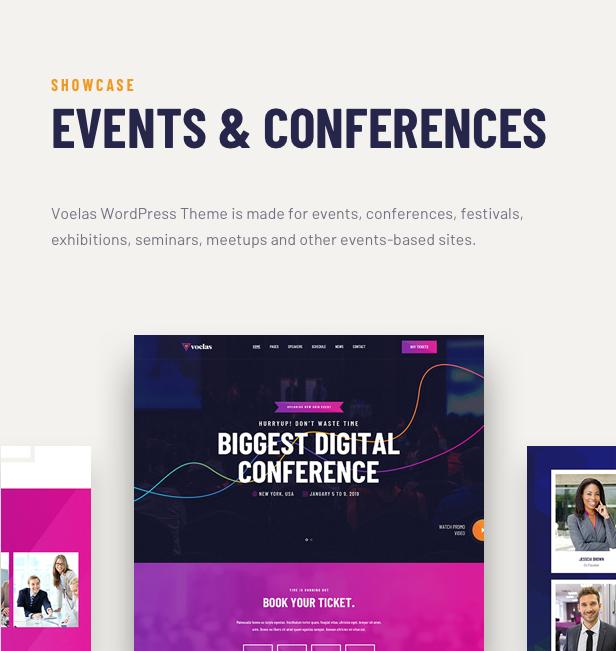 Voelas WordPress Theme - Common Features